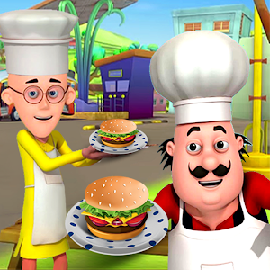 Motu Patlu Cooking 1.1.4 by TANGIAPPS IT SOLUTION PRIVATE LIMITED logo