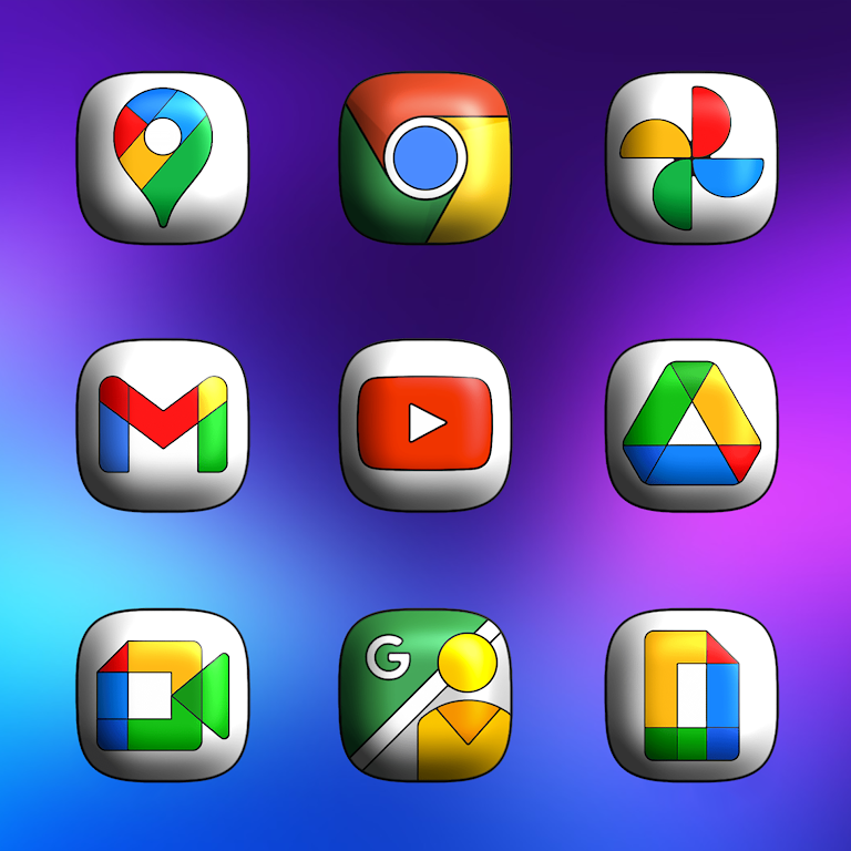 One UI 3D - Icon Pack  poster 3