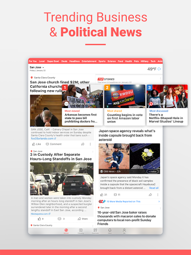 NewsBreak: Local News that Connects the Community android2mod screenshots 16