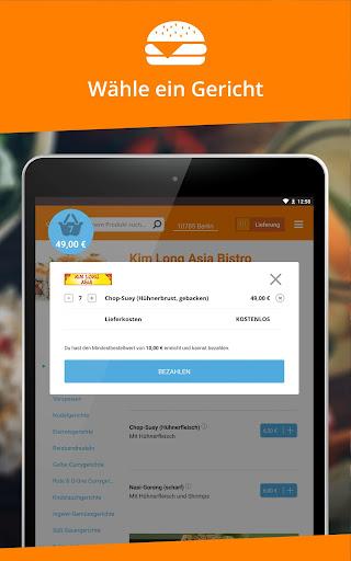 Lieferservice.de  screenshots 8
