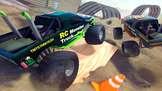 RC Monster Truck MOD APK (Unlimited Money) 3