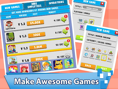 Video Game Tycoon - Idle Clicker & Tap Inc Game 3.3 Screenshots 3