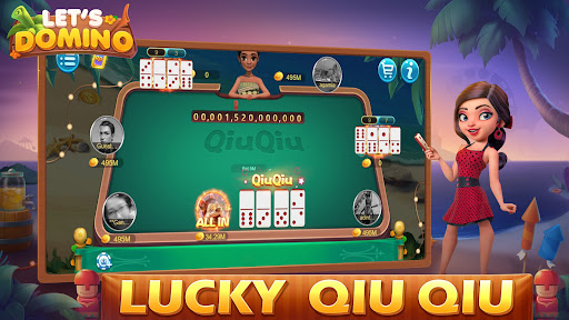 Letu2019s Domino Gaple QiuQiu Poker Game Online screenshots 3