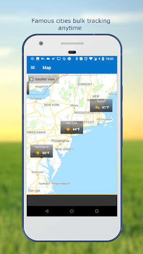 Weather & Clock Widget for Android screenshots 7