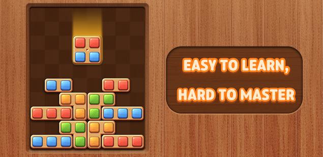 Color Wood Block Puzzle - Free Fun Drop Brain Game