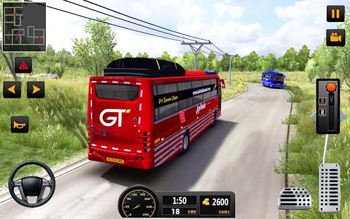Bus Driver 21 - New Coach Driving Simulator Games 1.3 Screenshots 11