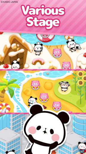 Match 3 Puzzle Tours : MOCHI MOCHI PANDA  screenshots 3