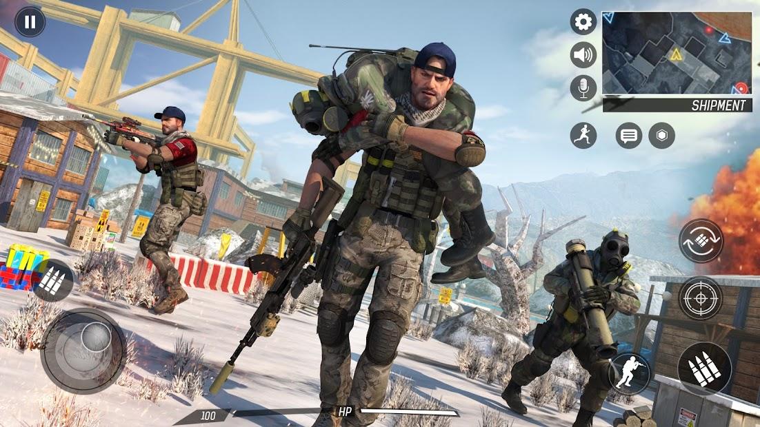 Captura de Pantalla 5 de Libre Pistola Tiroteo   Juegos : Nuevo   Juegos para android