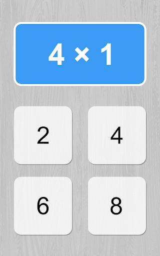multiplication table game screenshot 1