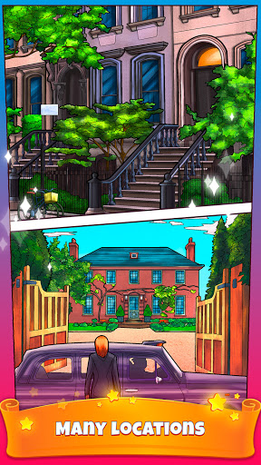Color By Number Secrets - Coloring Book Stories  screenshots 6