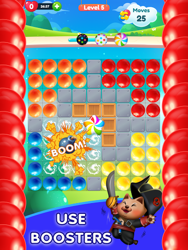 Kitty Bubble : Puzzle pop game 1.0.3 screenshots 9