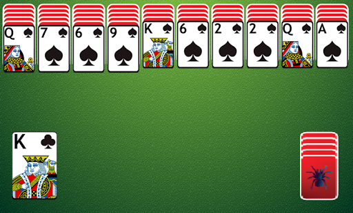Spider Solitaire Classic apktreat screenshots 1