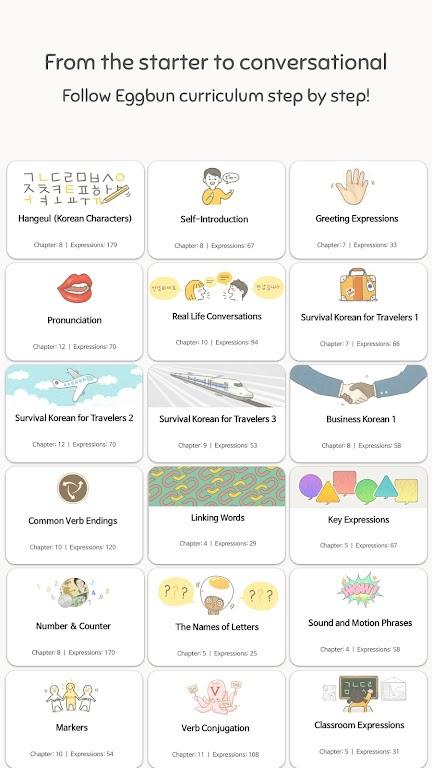 Eggbun: Learn Korean Fun  poster 11