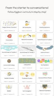 Eggbun: Learn Korean Fun 4.4.83 Screenshots 7