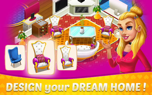 Home Design & Mansion Decorating Games Match 3 1.38 Screenshots 1