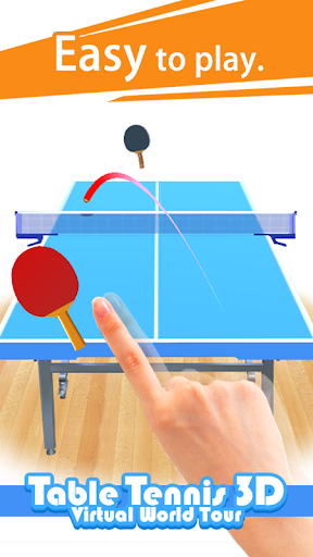 Table Tennis 3D Virtual World Tour Ping Pong Pro  screenshots 1