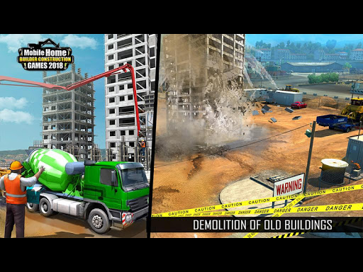 Mobile Home Builder Construction Games 2021 1.9 screenshots 9