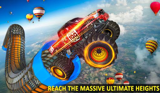 Ramp Monster Truck Stunts:New Racing Games 2.1 screenshots 10