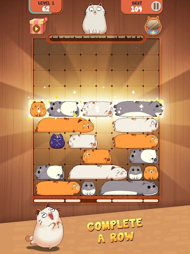 Haru Cats: Slide Block Puzzle 1.4.10 screenshots 11