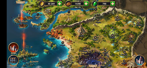 Chaos Lords: Stronghold Kingdom - Medieval RPG War screenshots 22