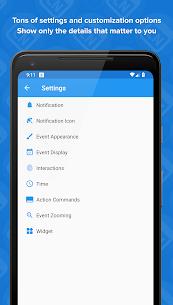 Calendar Notify – Widget, Lock and Status bar 2.19.306 Apk 2