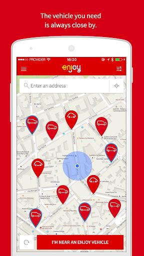 enjoy vehicle sharing 2.0.21 Screenshots 1