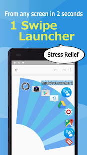 Quick Arc Launcher 2 ( Smart One Swipe Launcher )
