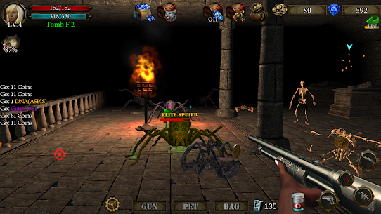 Dungeon Shooter MOD (Free Shopping) APK for Android 5