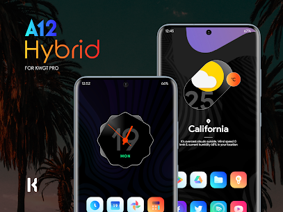 A12 Hybrid for KWGT (MOD APK, Paid/Patched) v1.2 2