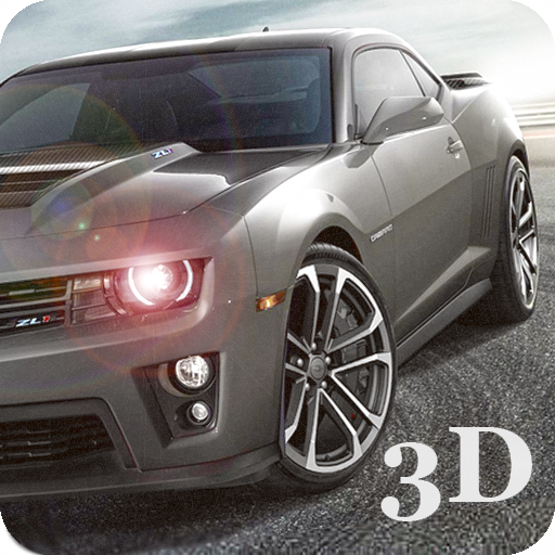 Real Muscle Car Driving 3D Icon
