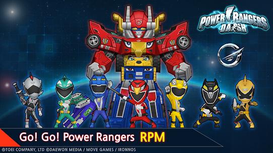 Power Rangers Dash MOD APK 4