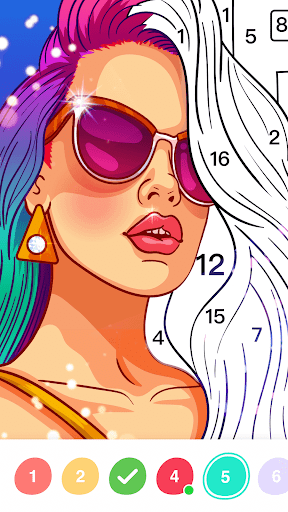 No.Paint - Relaxing Coloring games 2.2.3 screenshots 6