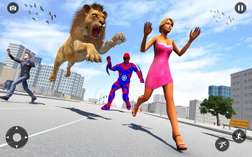 Superhero robot game police hero: rescue mission  Screenshots 4
