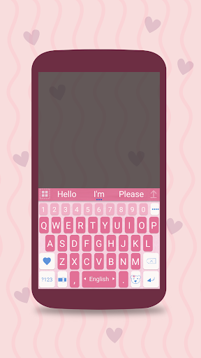 ai.keyboard My Baby Girl theme 5.0.10 Screenshots 1