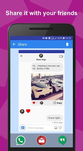 Funsta - Insta Fake Chat Post and Direct Prank Screenshots 6