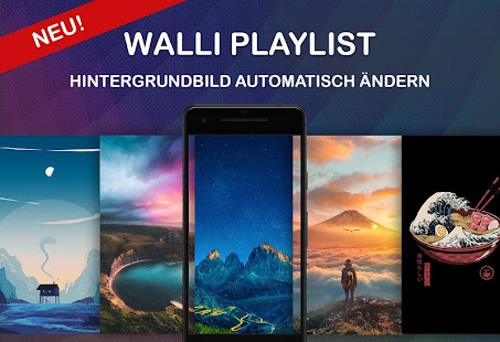 Walli - 4K, HD Hintergrundbilder & Wallpaper Screenshot