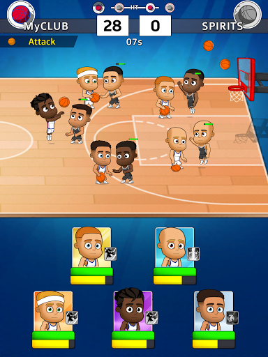 Idle Five Basketball android2mod screenshots 10