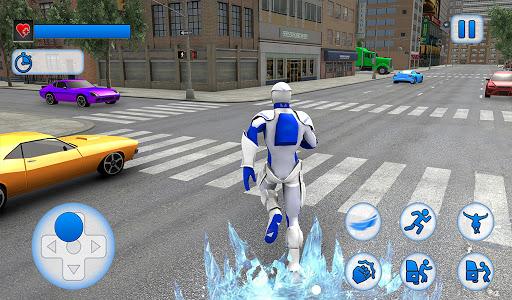 Snow Storm Super Human: Flying Ice Superhero War 1.0.3 screenshots 12