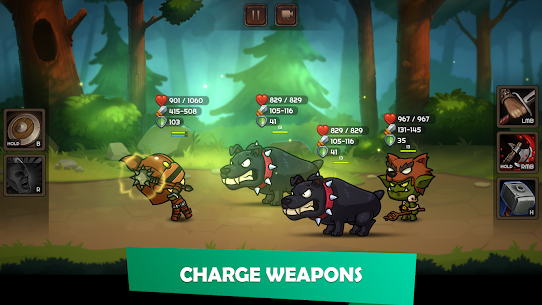 Kinda Heroes Mod Apk (Free Shopping/Unlocked) 3