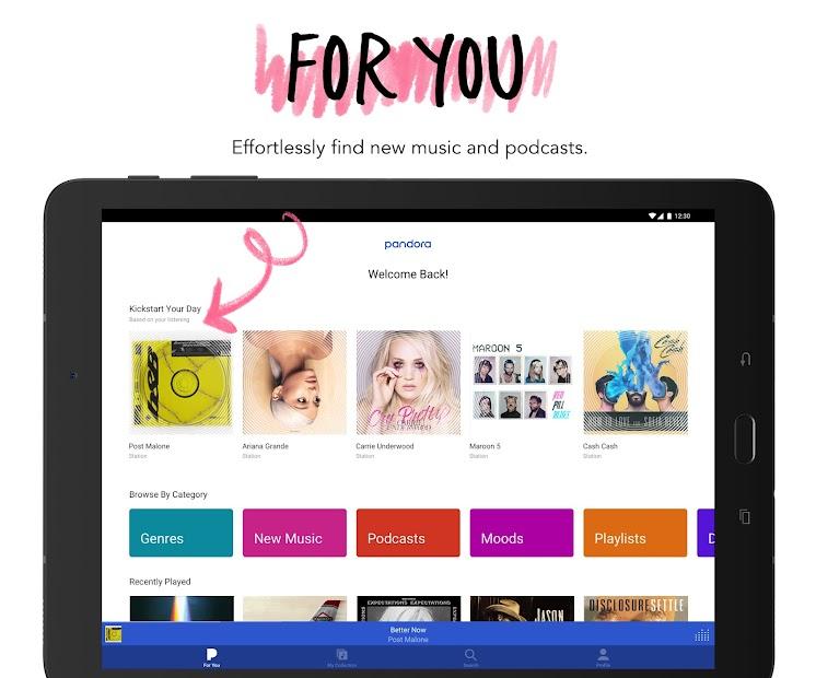 Pandora - Streaming Music, Radio & Podcasts screenshot 6