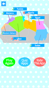 World Countries Map Quiz - Geography Game