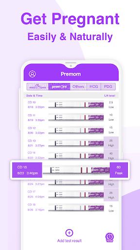 Premom Ovulation App. Fertility & Period Tracker apktram screenshots 1