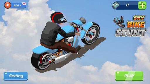 Sky Bike Stunt  updownapk 1