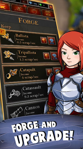 Castle Fusion Idle Clicker screenshots 4