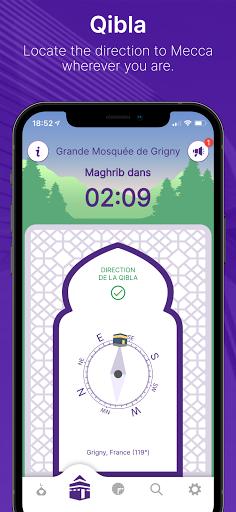 Mawaqit: Prayer times, Mosque, Qibla, Athan u0645u0648u0627u0642u064au062a apktram screenshots 7