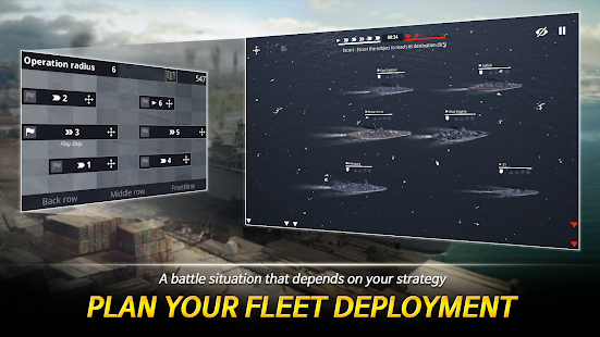 Warship Fleet Command : WW2 Naval War Game 2.01803 Screenshots 13