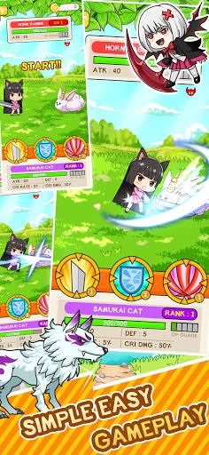 Isekai Samurai Cat Kawaii  screenshots 7