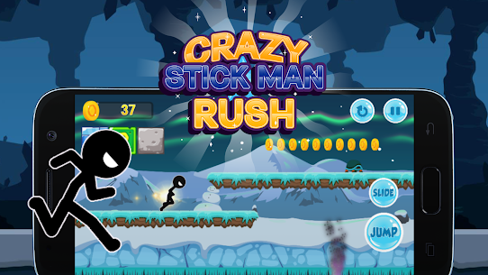 Crazy Stickman Rush Hack for iOS and Android 4