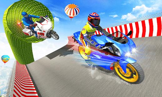 Police Bike Mega Ramp Impossible Bike Stunt Games 3.3 APK + Mod (Unlimited money) for Android