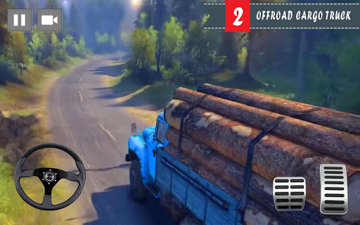 Cargo Truck Driver 2021 - Truck Driving Simulator 1.3 Screenshots 2